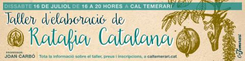 Taller d'elaboració de ratafia catalana